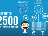 Get up to €2500 Grant for your new Website