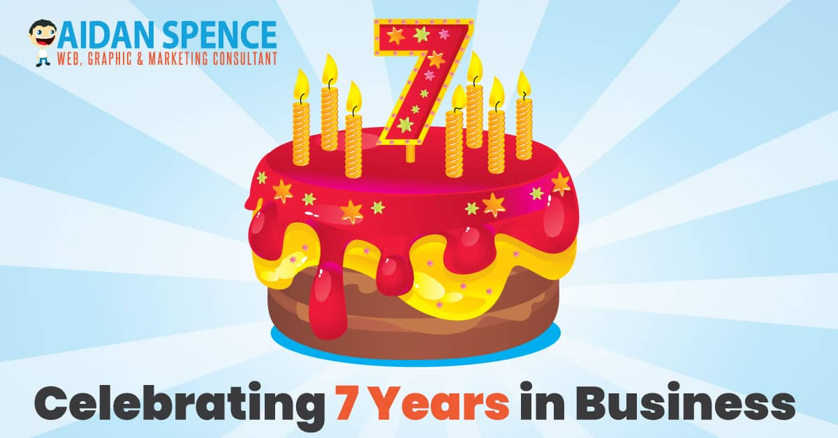 Celebrating 7 Years in Business