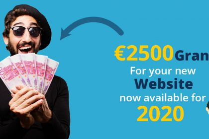 2021 Donegal Online Trading Online Voucher Scheme – up to€2,500 Grant available in Donegal For Your web and e-commercedesign