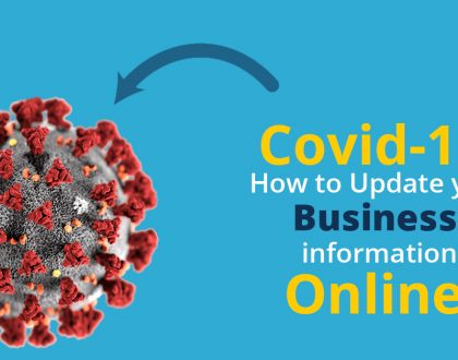 3 places to update your business information about Covid-19
